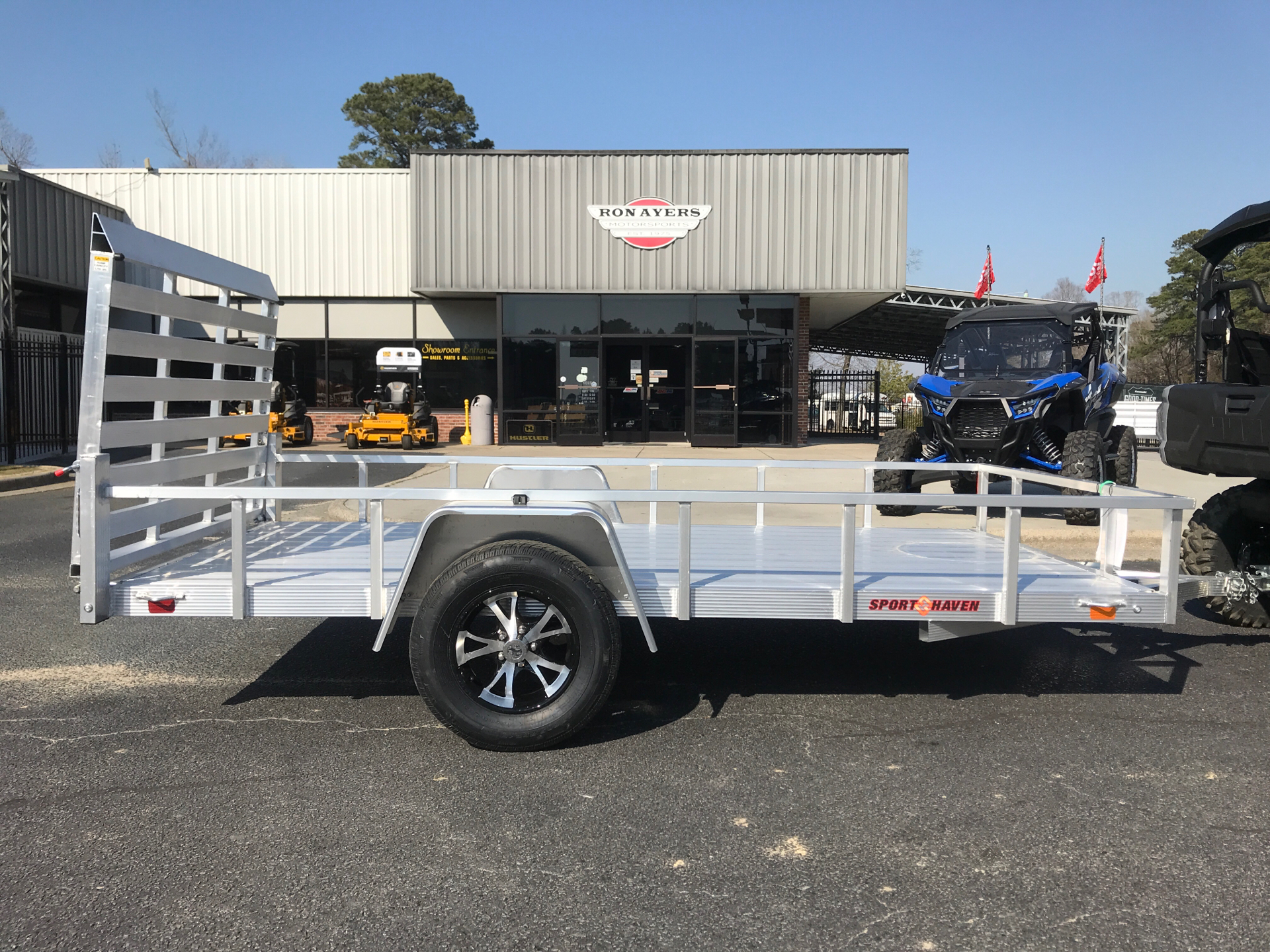 2021 Sport Haven 6 x 12 3.5k axle in Greenville, North Carolina - Photo 1