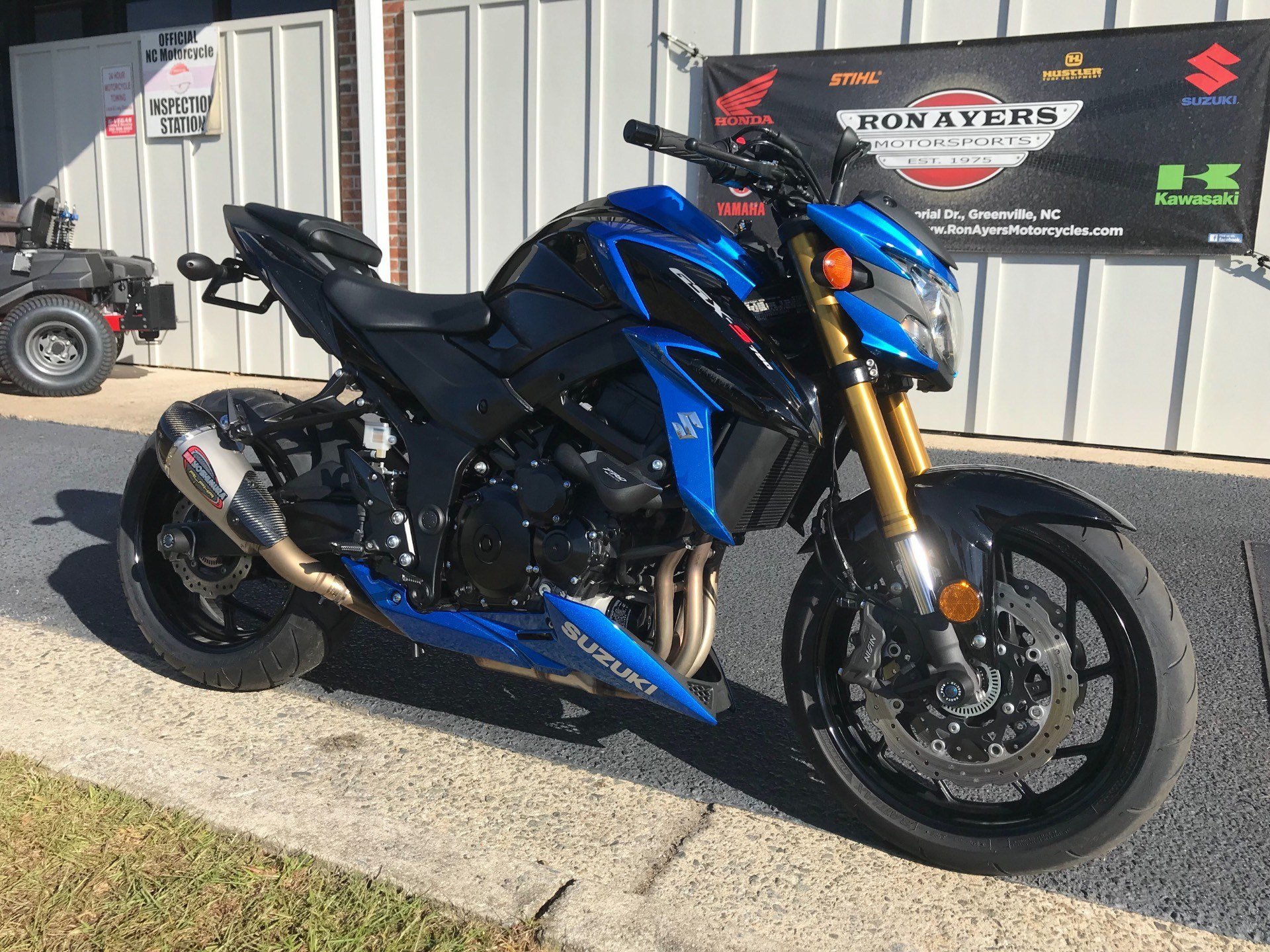 2018 Suzuki GSX-S750 in Greenville, North Carolina
