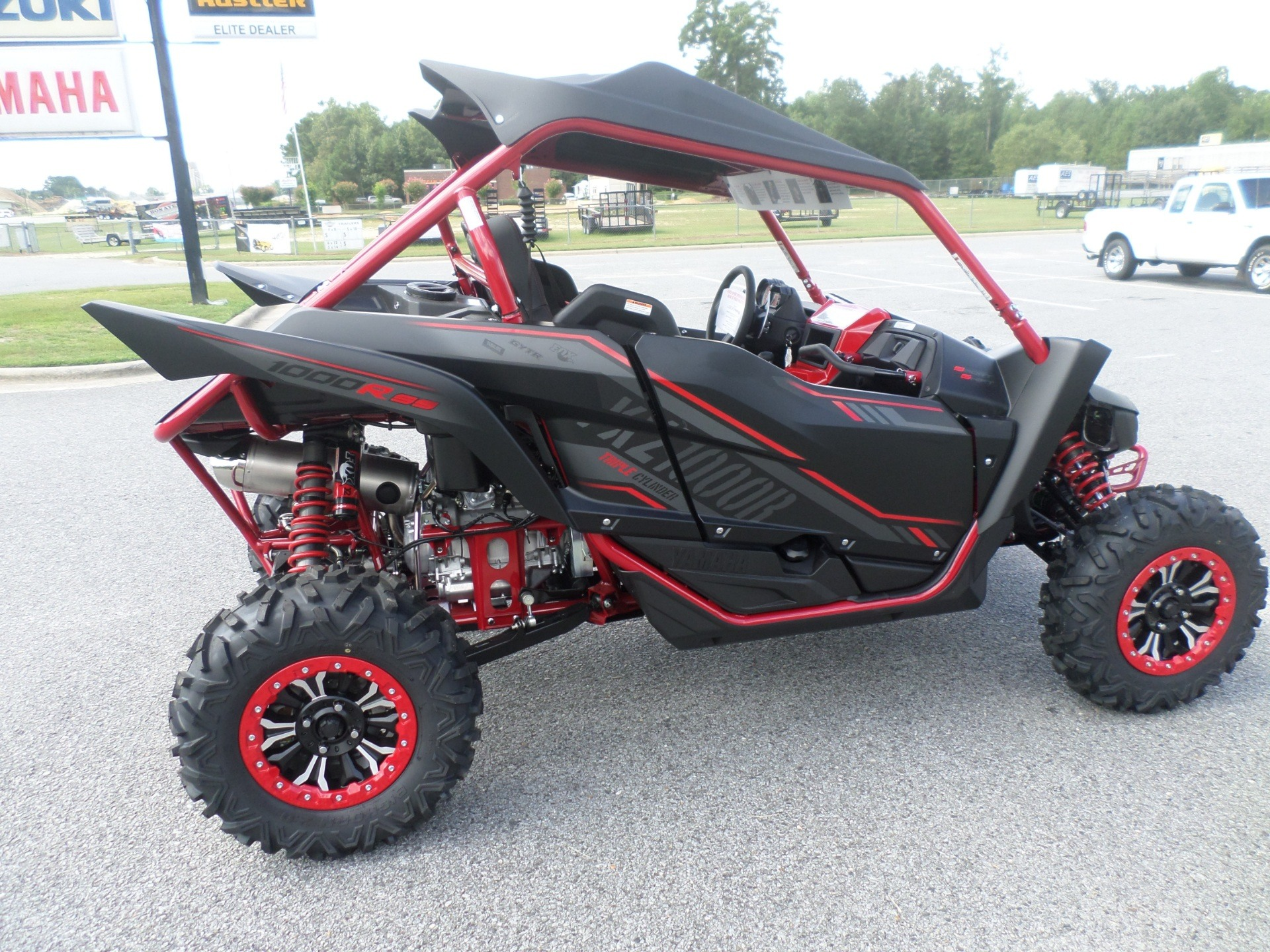 2017 Yamaha YXZ1000R SS SE in Greenville, North Carolina