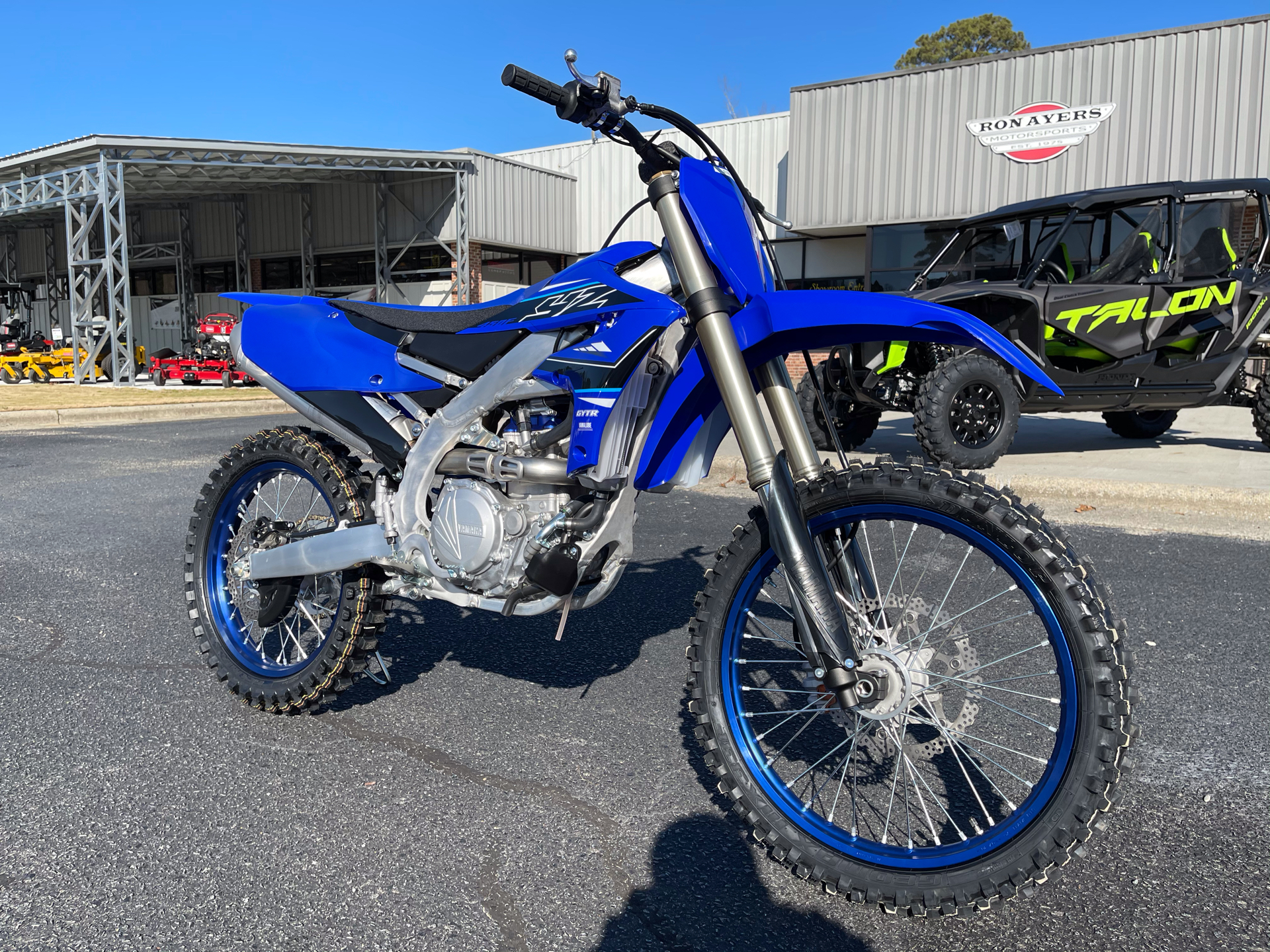 2021 Yamaha YZ450F in Greenville, North Carolina - Photo 2