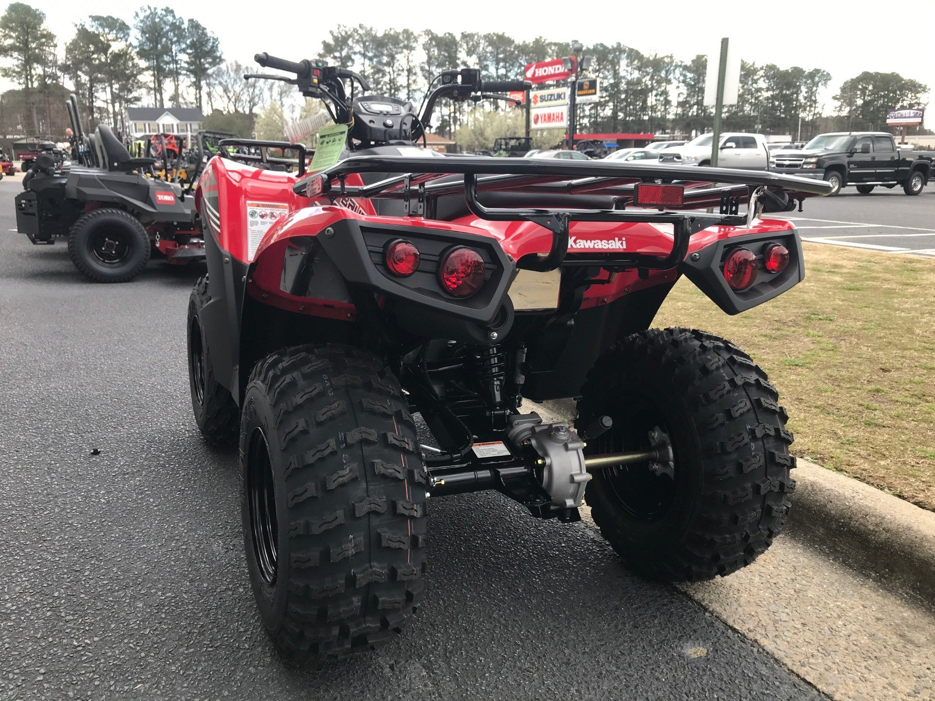 2020 Kawasaki Brute Force 300 in Greenville, North Carolina - Photo 9