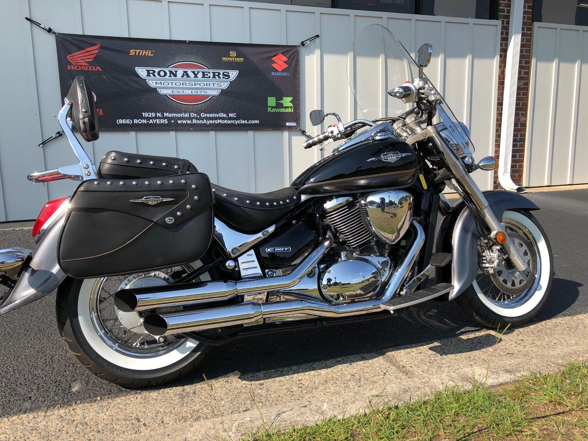 2009 Suzuki Boulevard C50T in Greenville, North Carolina - Photo 12
