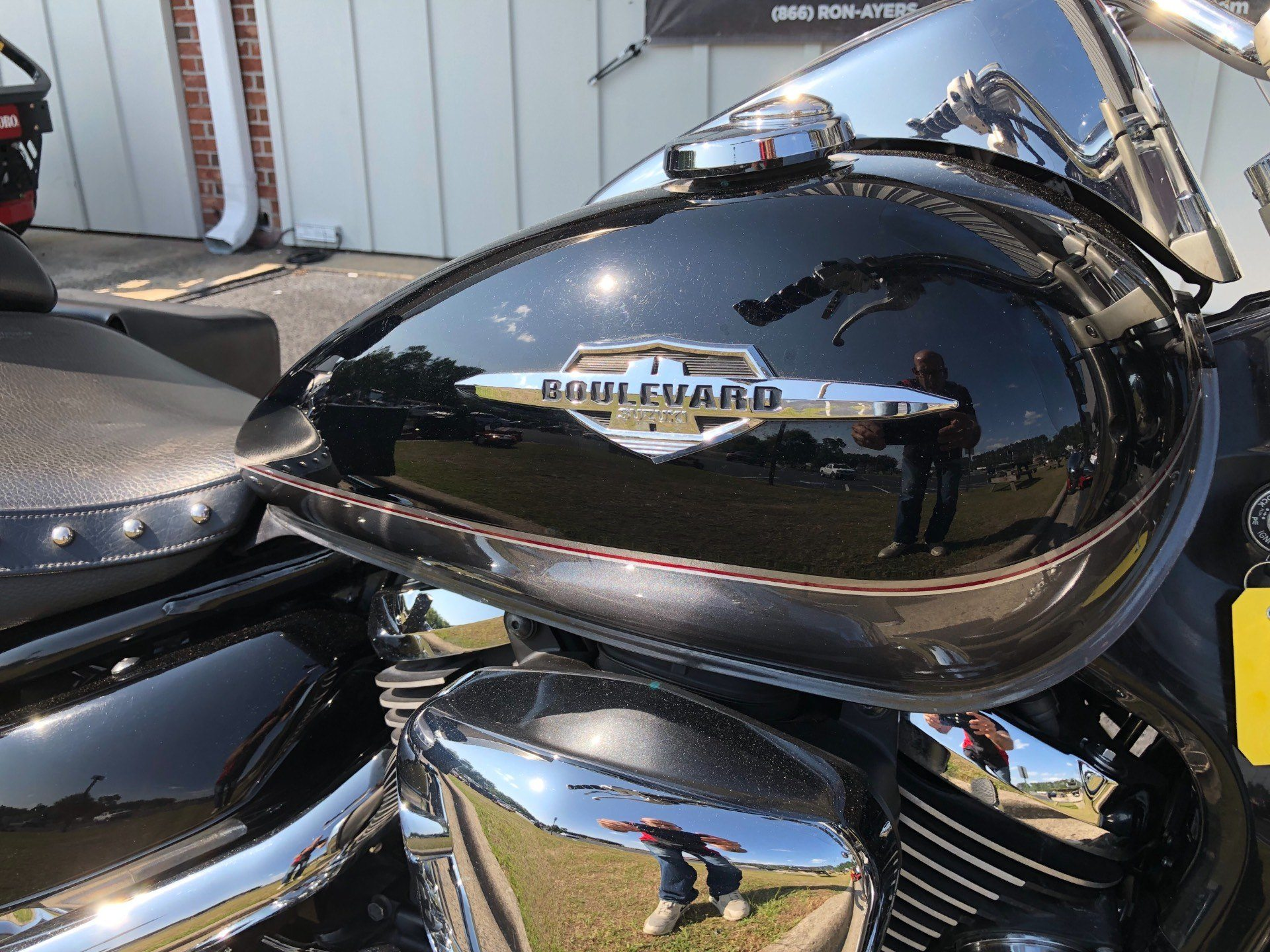 2009 Suzuki Boulevard C50T in Greenville, North Carolina - Photo 15