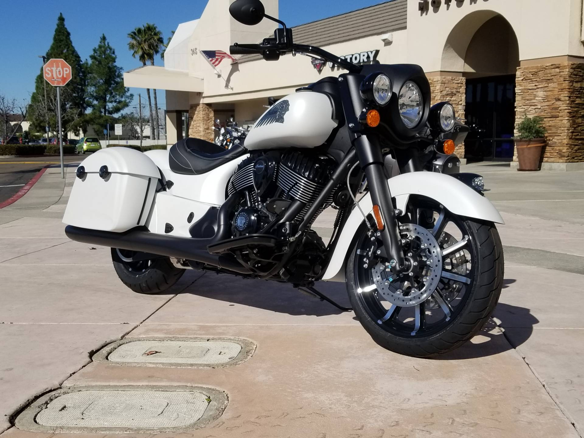 2019 Indian Springfield® Dark Horse® ABS in EL Cajon, California - Photo 3