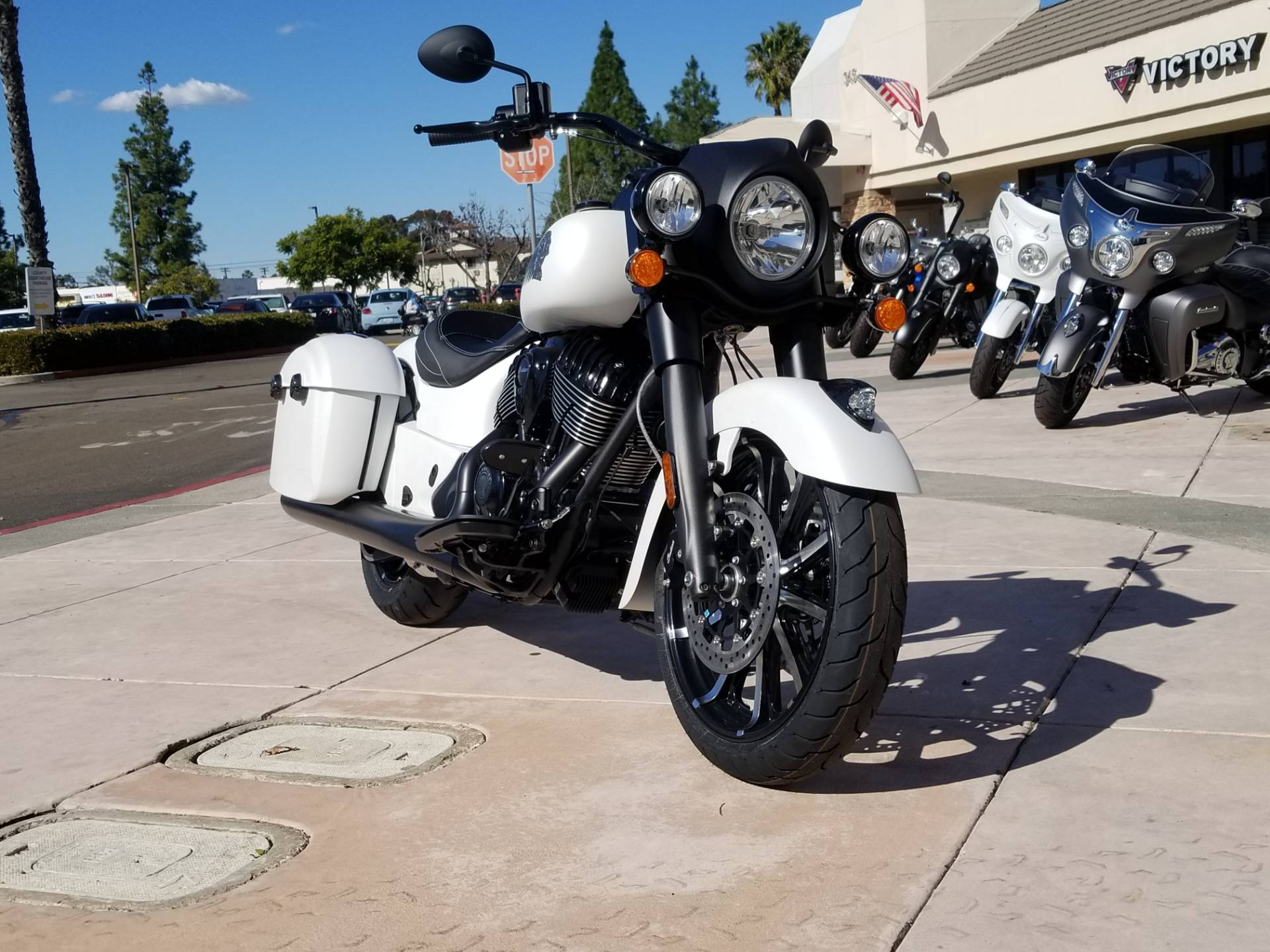 2019 Indian Springfield® Dark Horse® ABS in EL Cajon, California - Photo 4