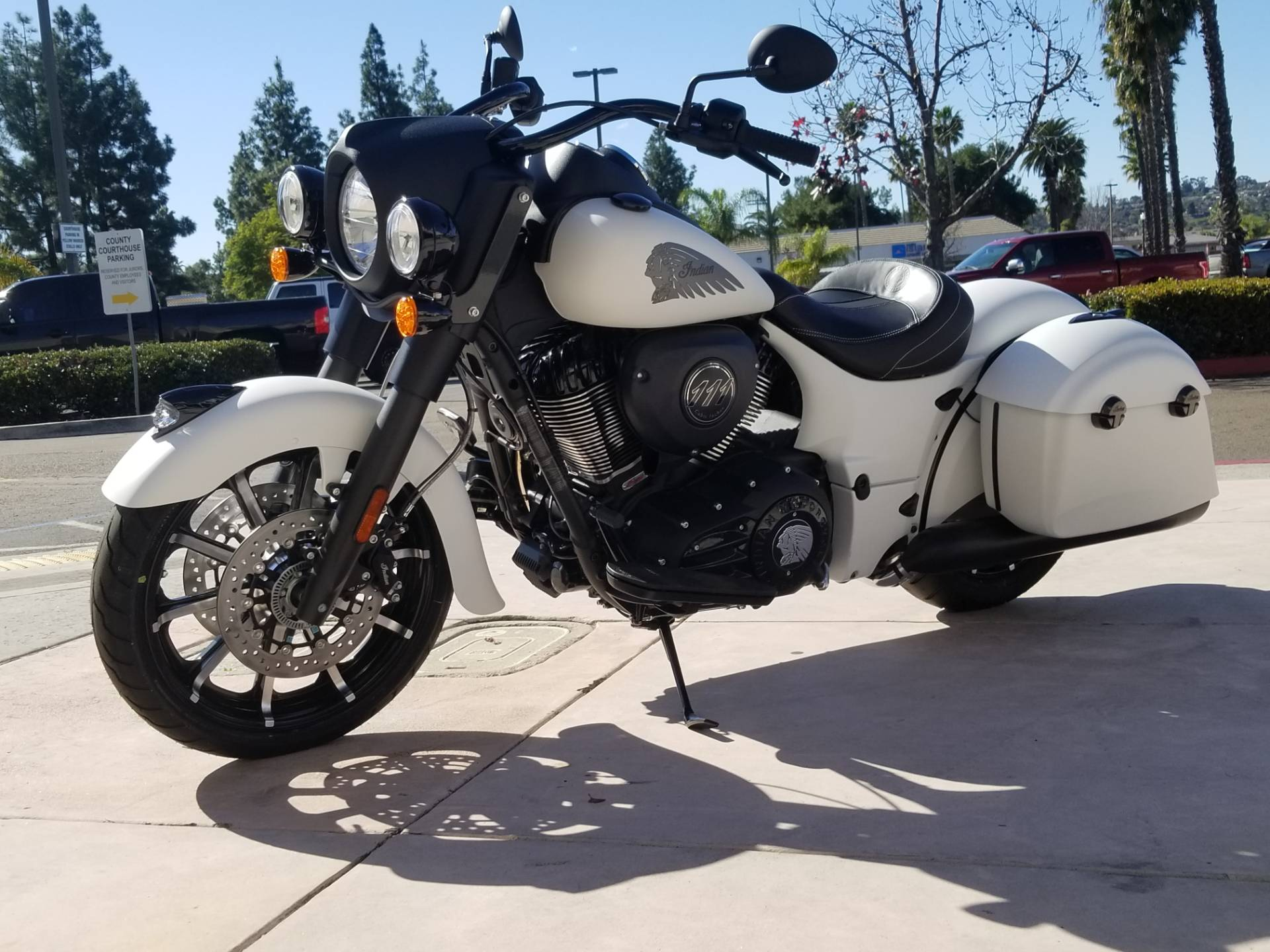 2019 Indian Springfield® Dark Horse® ABS in EL Cajon, California - Photo 9