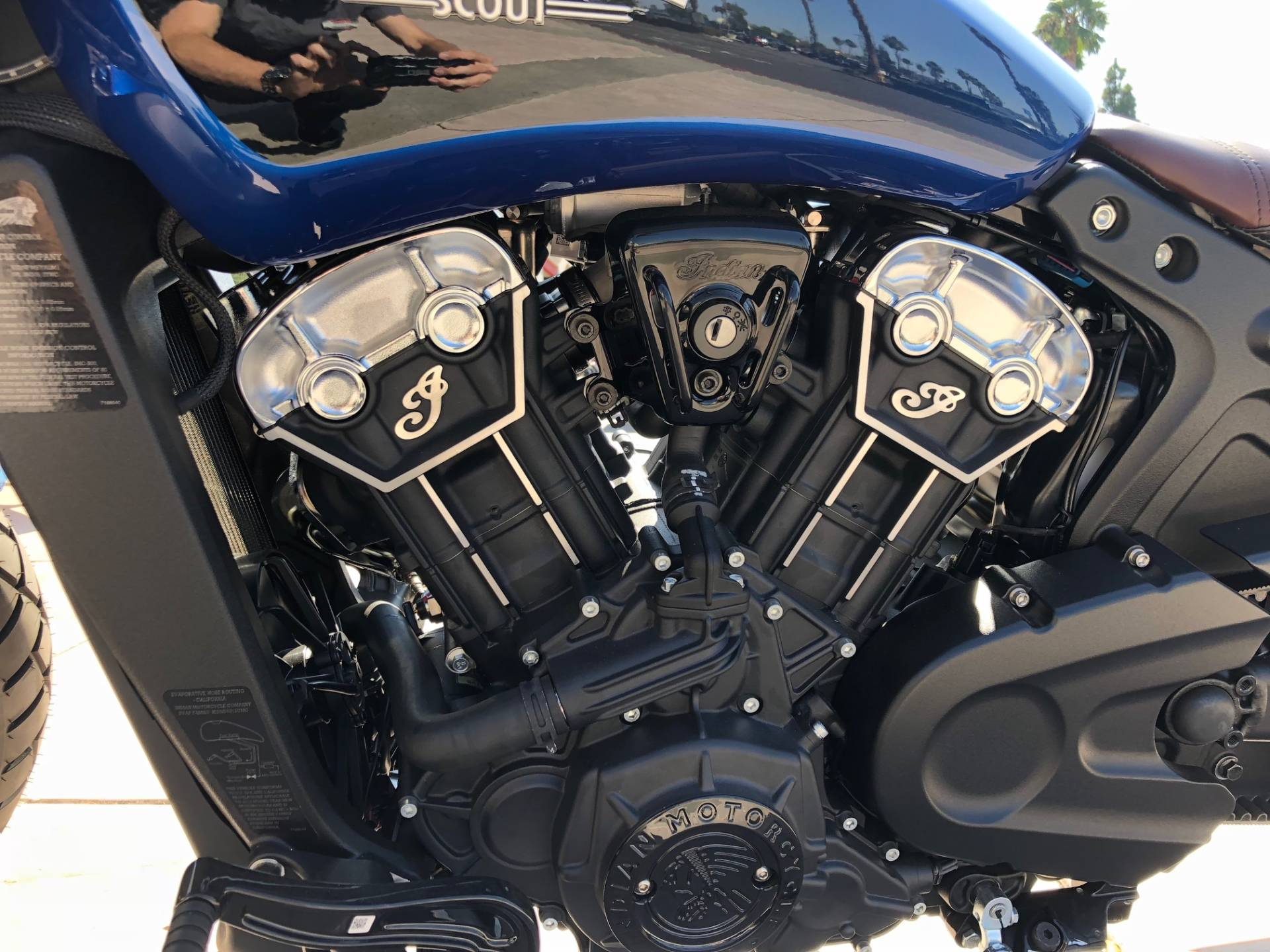 2019 Indian Scout® Bobber ABS Icon Series in EL Cajon, California - Photo 16