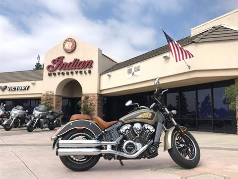 2018 Indian Scout® ABS Icon Series in EL Cajon, California