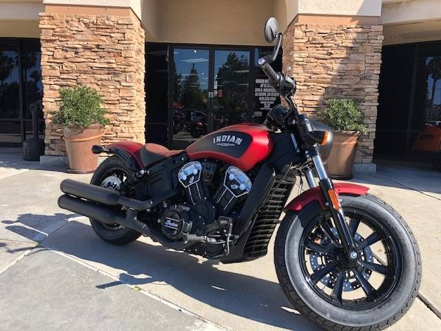 2020 Indian Scout® Bobber ABS Icon Series in EL Cajon, California - Photo 1