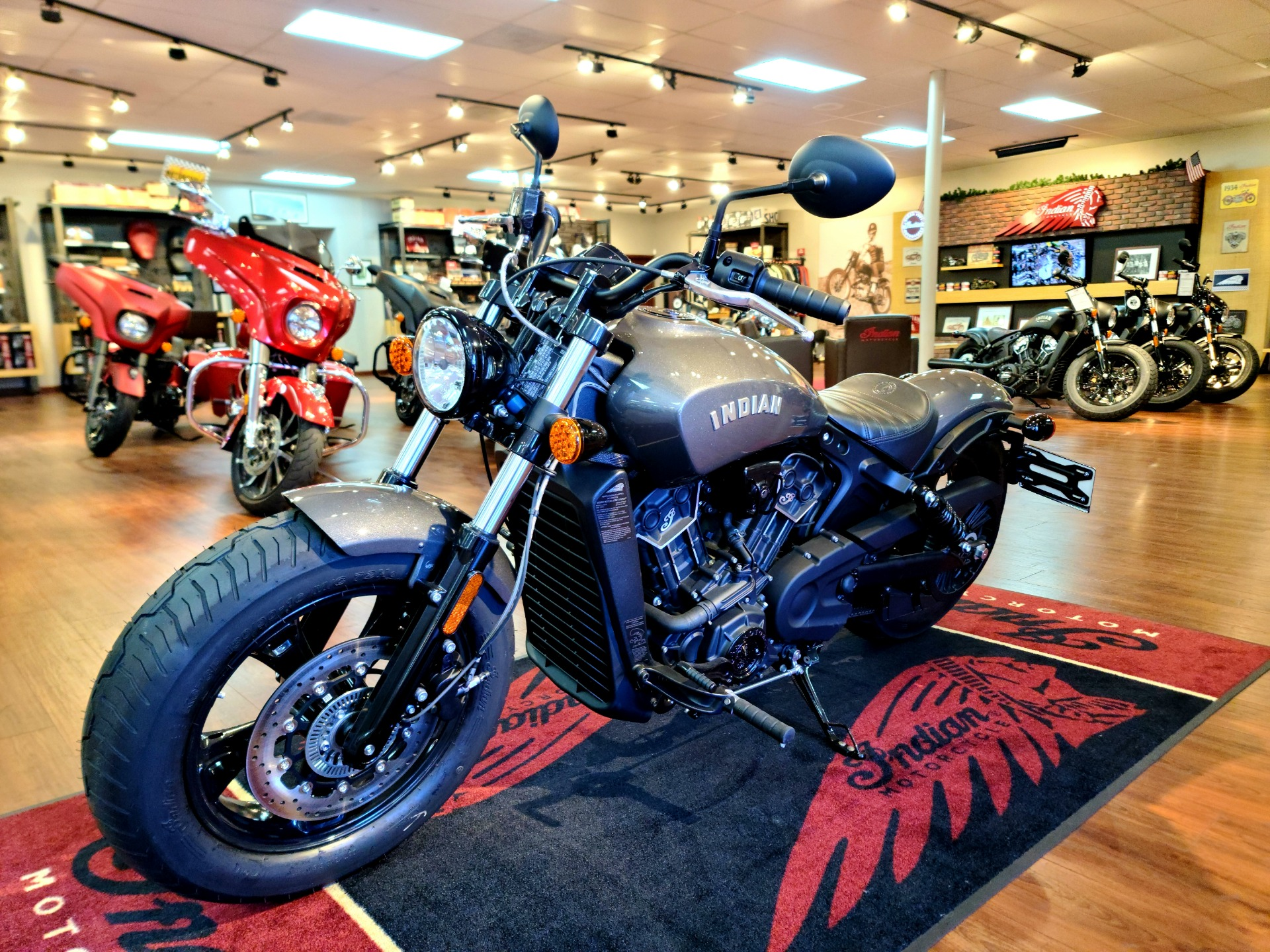 2021 Indian Scout® Bobber Sixty ABS in EL Cajon, California - Photo 1