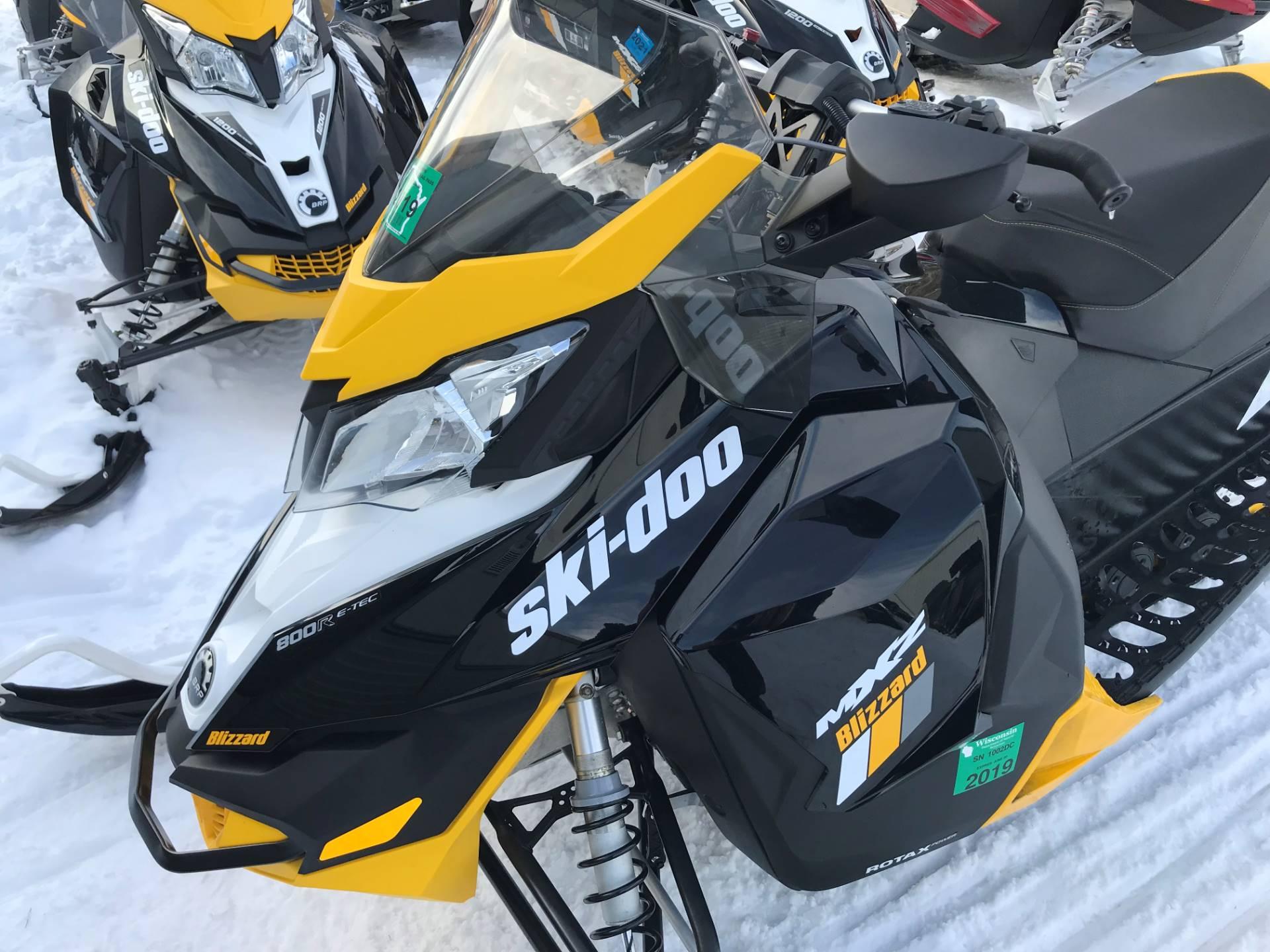 2016 Ski Doo Mx Z Blizzard 800r E Tec S In Woodruff Wisconsin