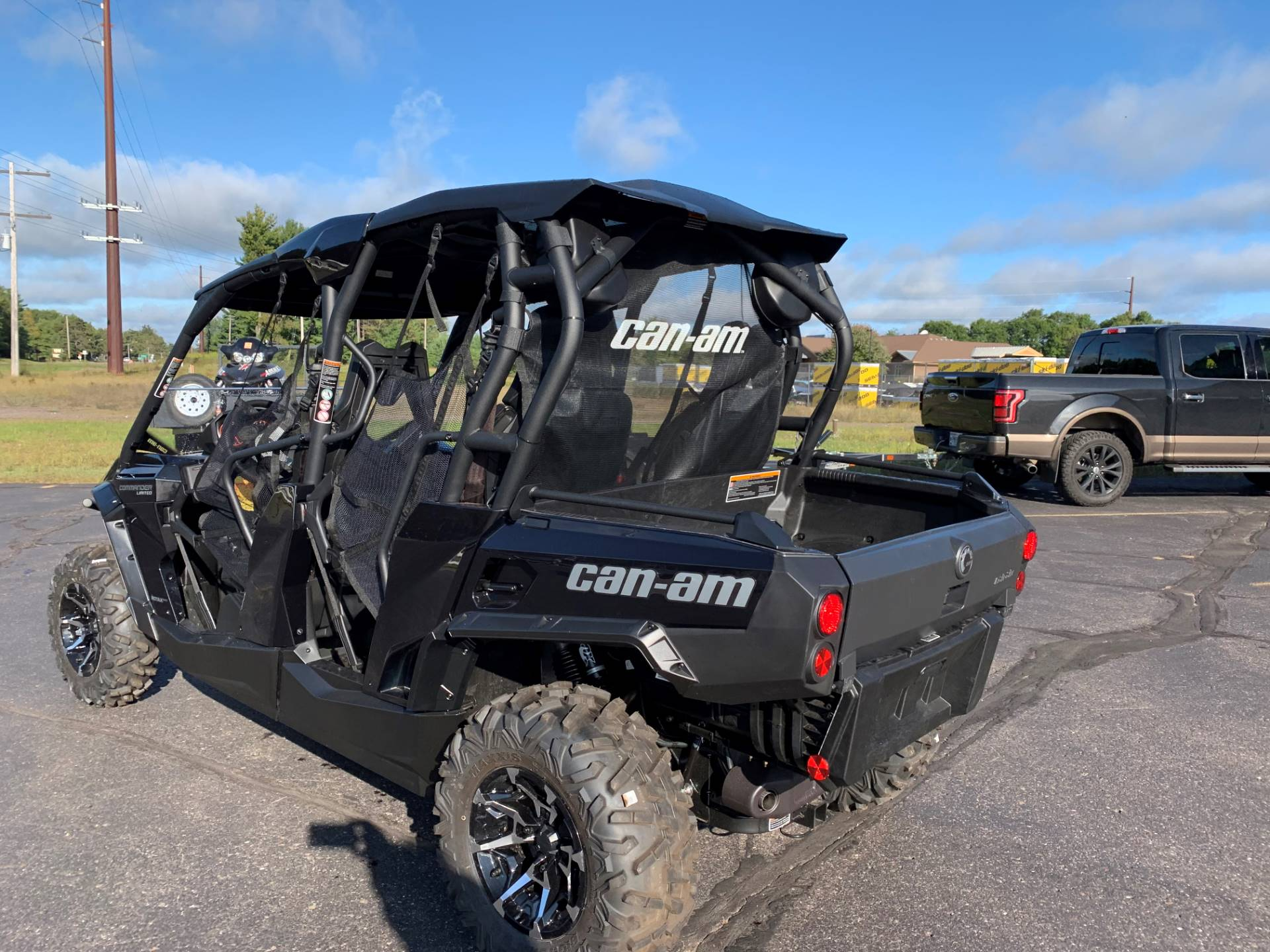 2019 Can-Am Commander MAX Limited 1000R in Woodruff, Wisconsin - Photo 7