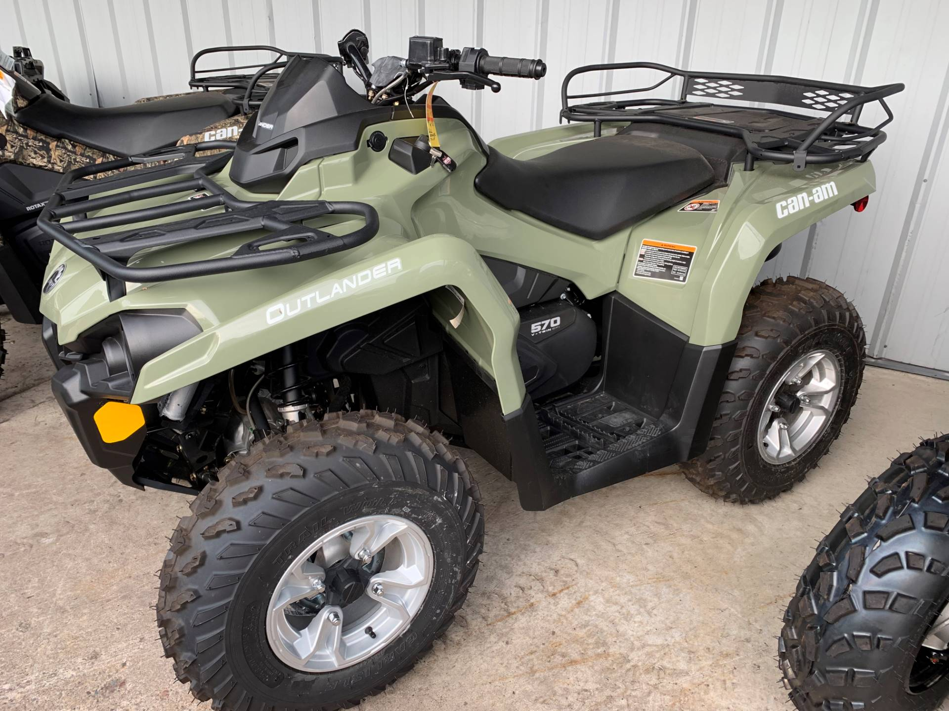 2019 Can-Am Outlander DPS 570 in Woodruff, Wisconsin - Photo 1