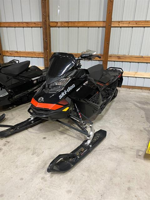 2017 Ski-Doo Renegade X 850 E-TEC E.S. Ice Ripper XT in Woodruff, Wisconsin - Photo 1