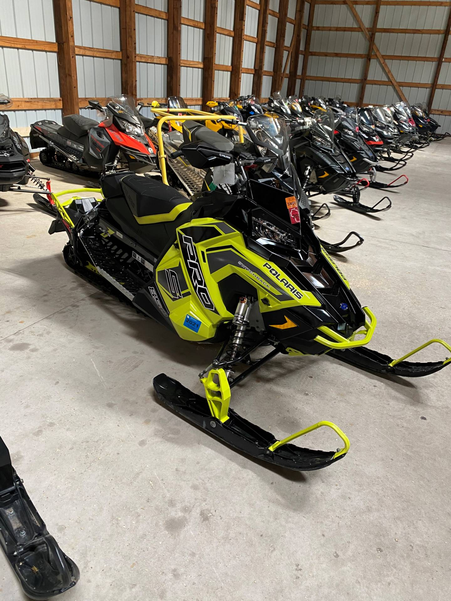 2019 Polaris 850 Switchback Pro-S SnowCheck Select in Woodruff, Wisconsin - Photo 1