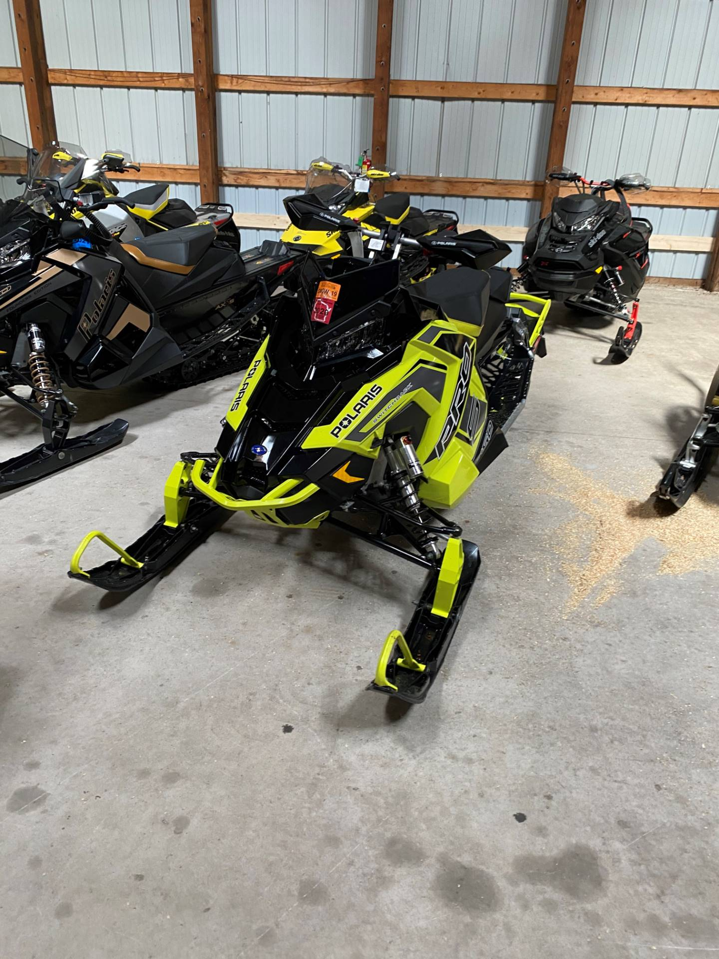 2019 Polaris 850 Switchback Pro-S SnowCheck Select in Woodruff, Wisconsin - Photo 3
