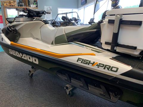 2019 Sea-Doo Fish Pro iBR + Sound System in Woodruff, Wisconsin - Photo 5