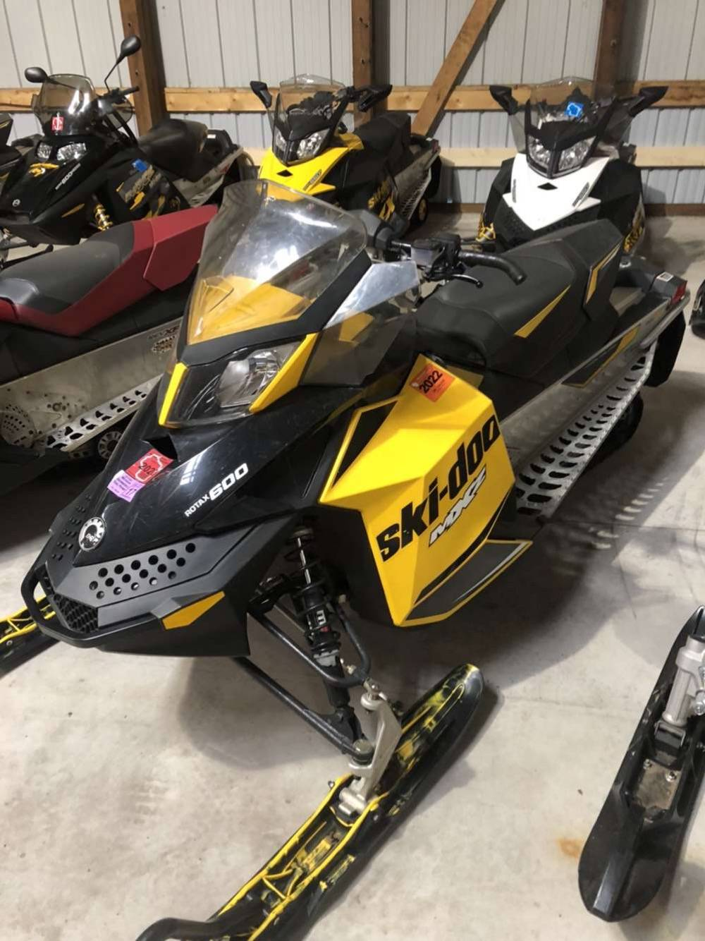 2013 Ski-Doo MX Z® Sport 600 Carb in Woodruff, Wisconsin - Photo 4