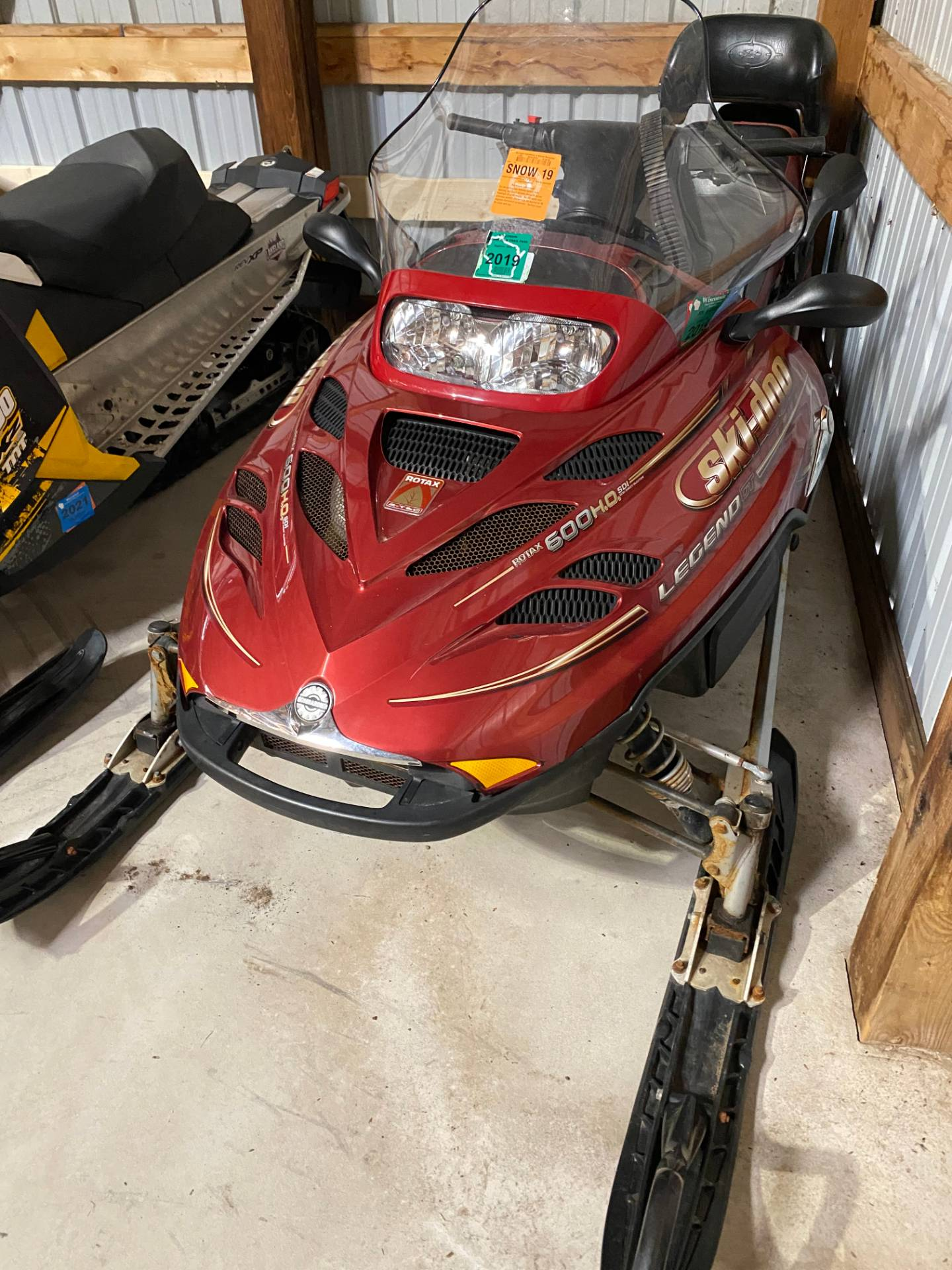 2004 Ski-Doo GSX Limited 2-Up 600 SDI in Woodruff, Wisconsin - Photo 1