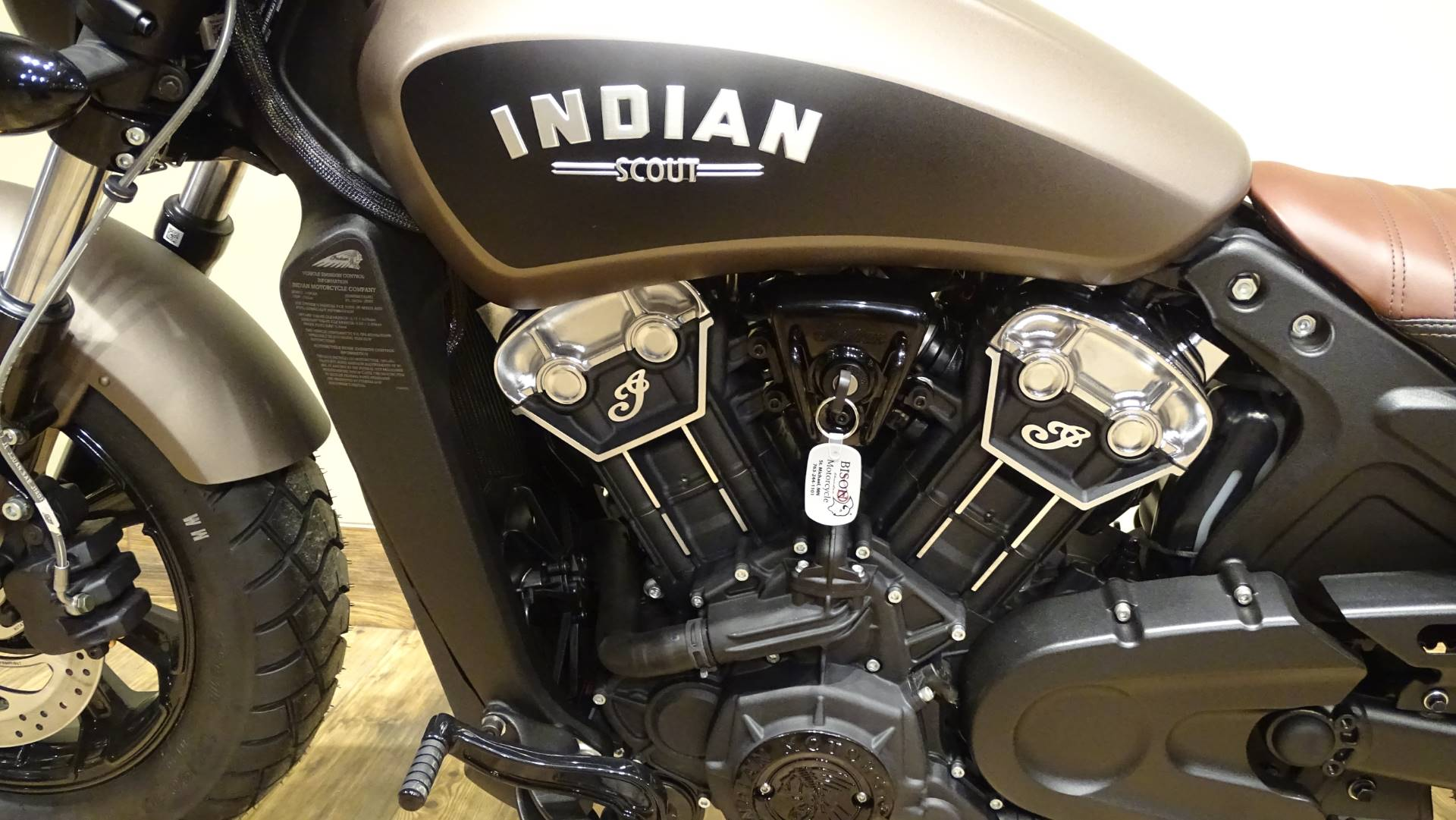 2019 Indian Scout Bobber ABS 4