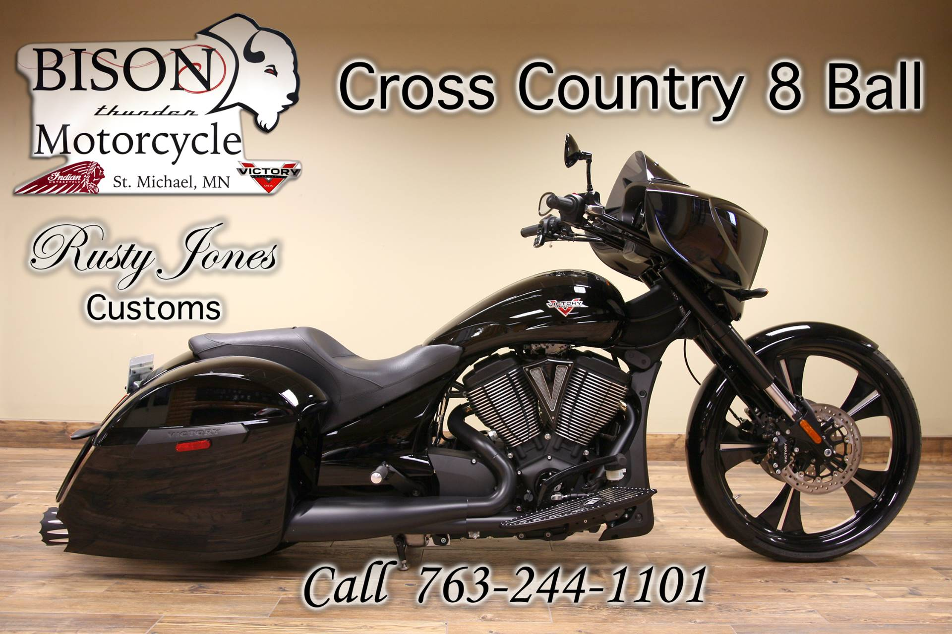 2016 Victory Cross Country 8-Ball 3