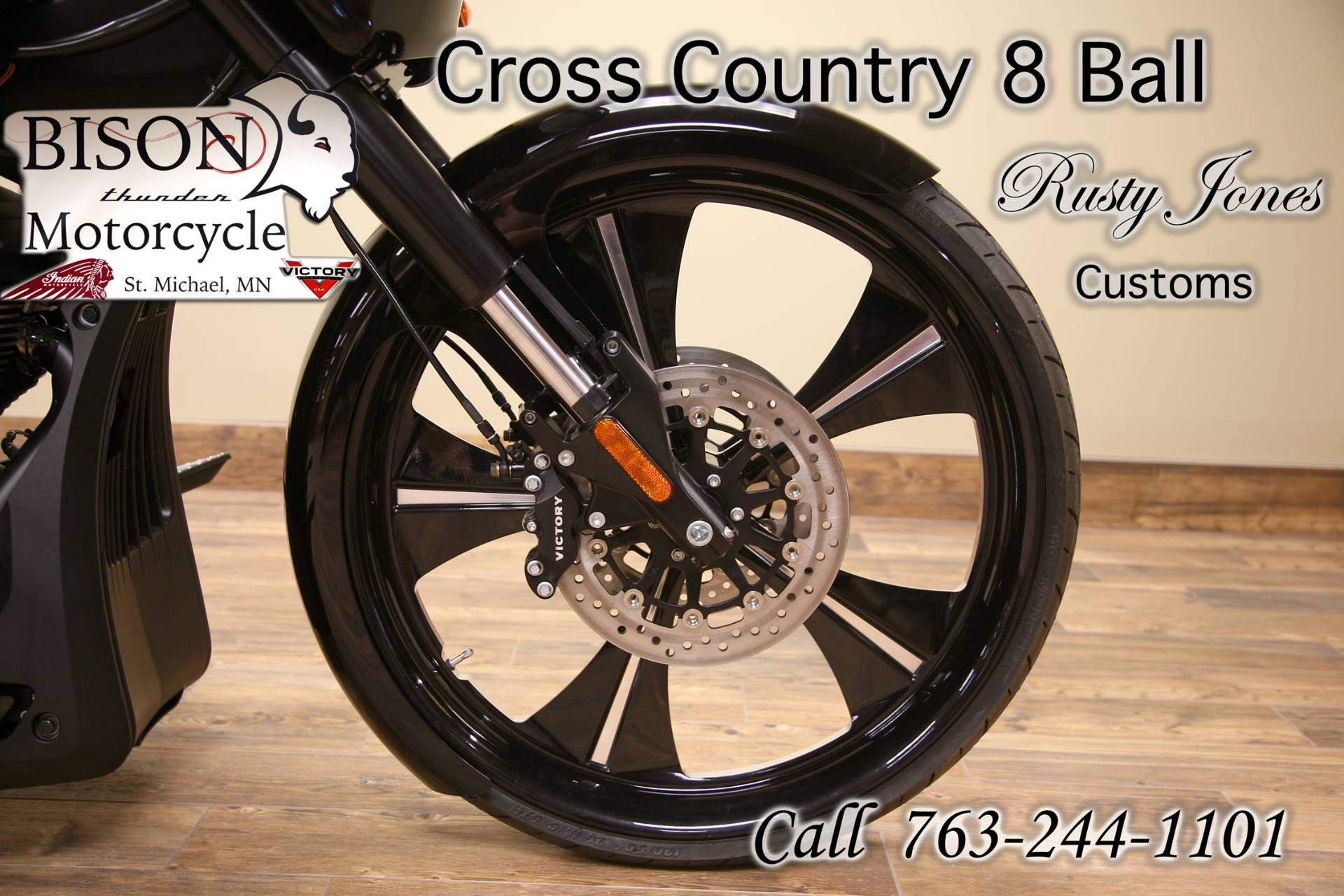 2016 Victory Cross Country 8-Ball 4