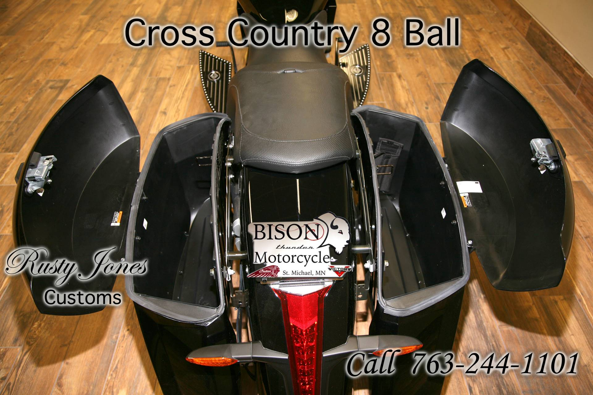 2016 Victory Cross Country 8-Ball 10