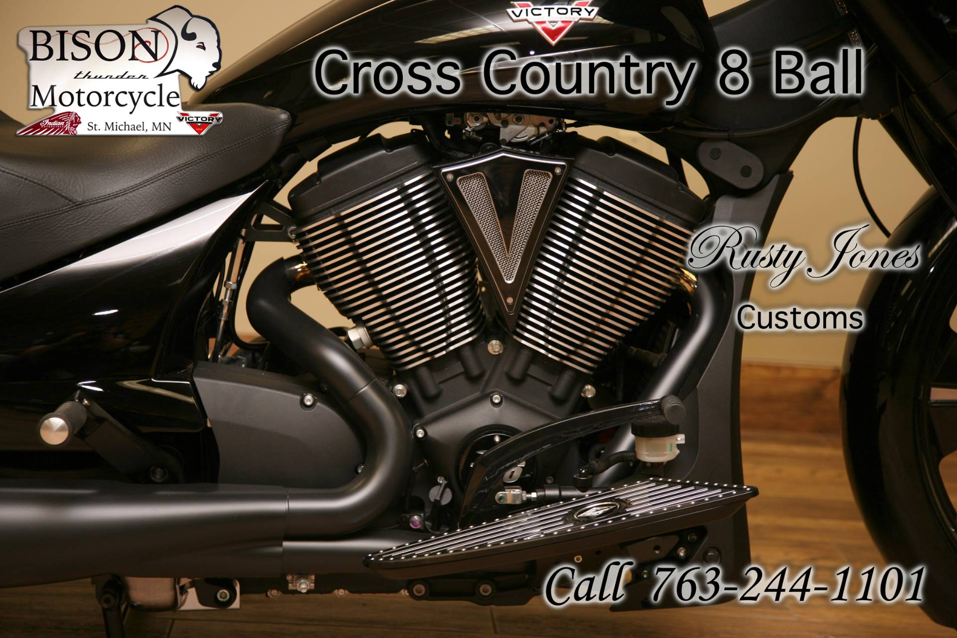 2016 Victory Cross Country 8-Ball 12
