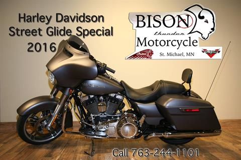 2016 Harley-Davidson Street Glide® Special in Saint Michael, Minnesota