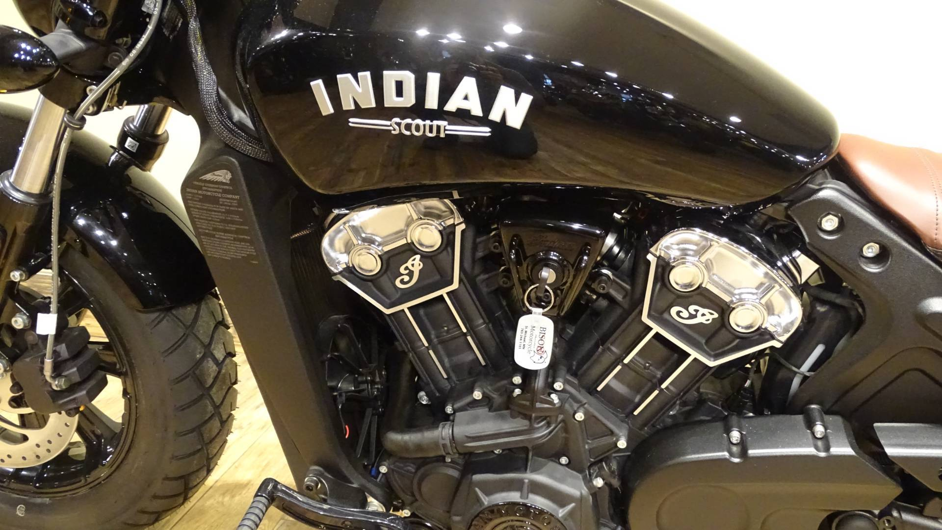 2019 Indian Scout® Bobber in Saint Michael, Minnesota - Photo 4