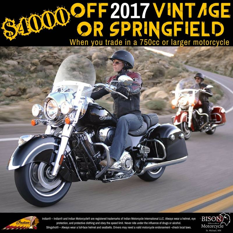 2017 Indian Springfield™ in Saint Michael, Minnesota