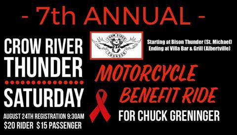 Crow River Thunder 7th Annual Benefit Ride