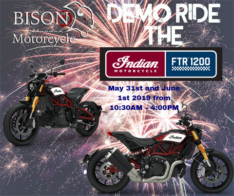 Demo Ride The FTR 1200 - St. Paul