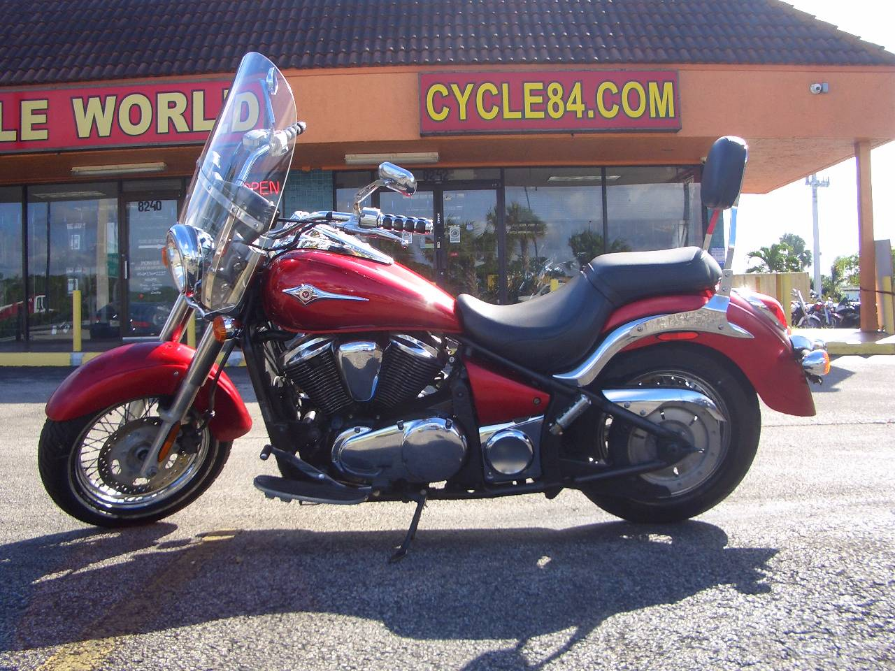2010 Kawasaki Vulcan 900 Classic Candy Fire Red Motorcycles Fort