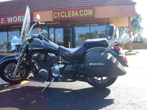 2014 Yamaha V Star 1300 Tourer in Fort Lauderdale, Florida