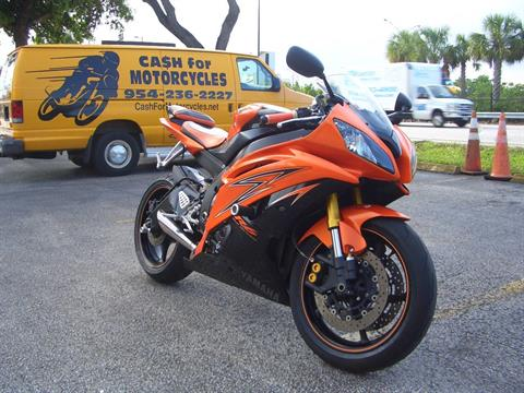 2009 Yamaha YZF-R6 in Fort Lauderdale, Florida