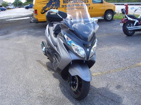 2013 Suzuki Burgman™ 400 ABS in Fort Lauderdale, Florida
