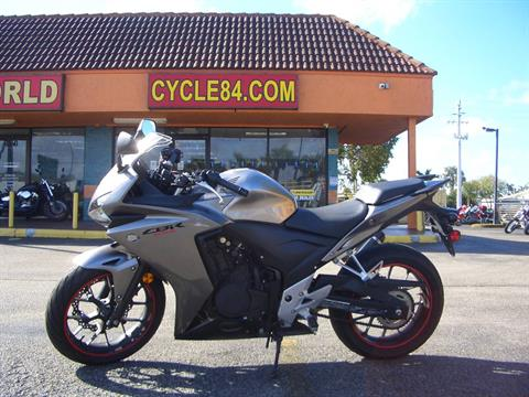 2015 Honda CBR®500R in Fort Lauderdale, Florida