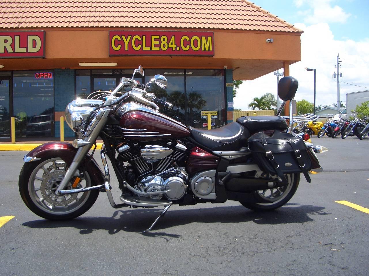 2006 Yamaha Roadliner Black Cherry Motorcycles Fort Lauderdale ...