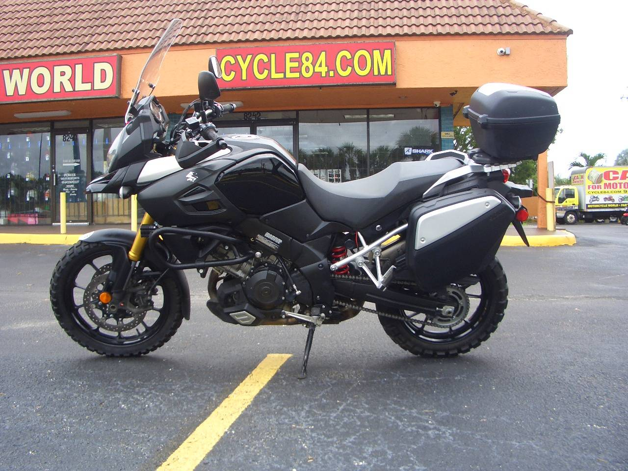 2014 Suzuki V-Strom 1000 ABS Adventure in Fort Lauderdale, Florida