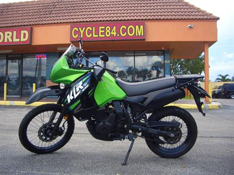 2013 Kawasaki KLR™650 in Fort Lauderdale, Florida