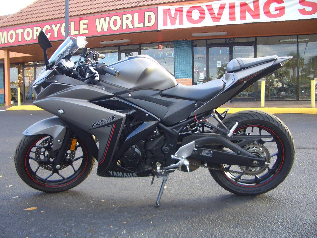 2016 Yamaha Yzf R3 In Fort Lauderdale Florida Photo 1