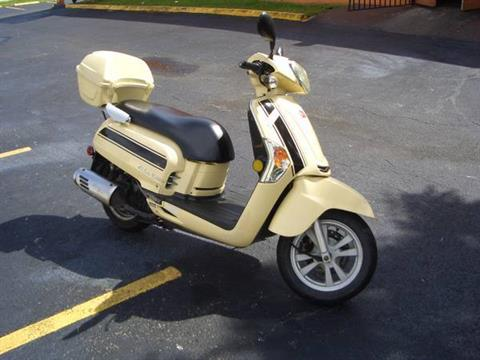 2012 Kymco Like 200i in Fort Lauderdale, Florida - Photo 3