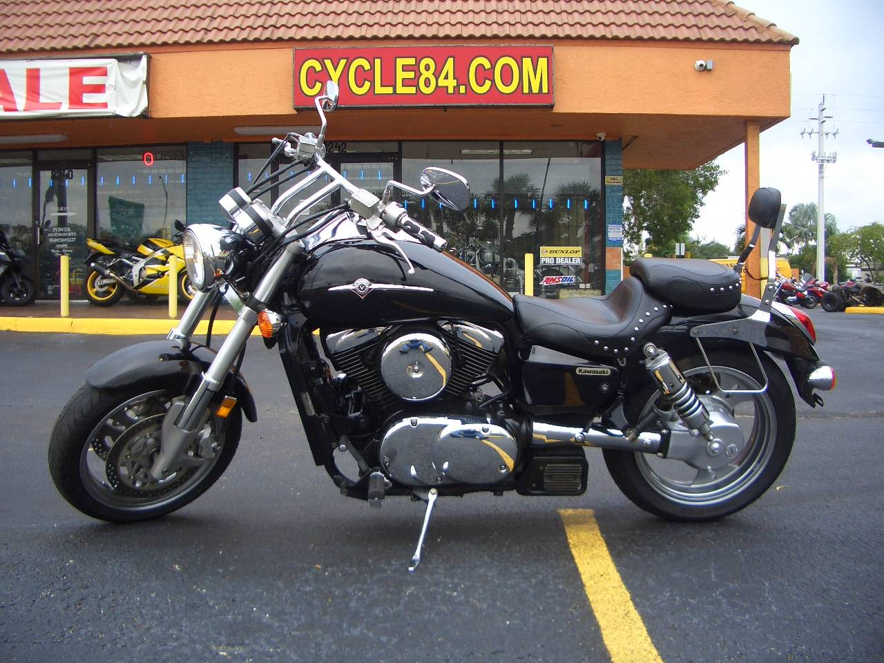 2005 Kawasaki Vulcan 1600 Mean Streak Ebony Motorcycles Fort