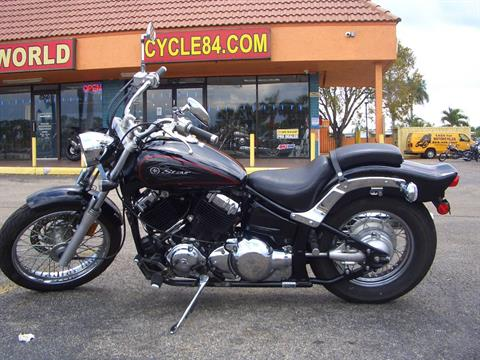 2011 Yamaha V Star Custom in Fort Lauderdale, Florida