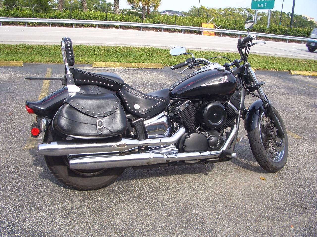2007 Yamaha V Star® Midnight 1100 Custom in Fort Lauderdale, Florida
