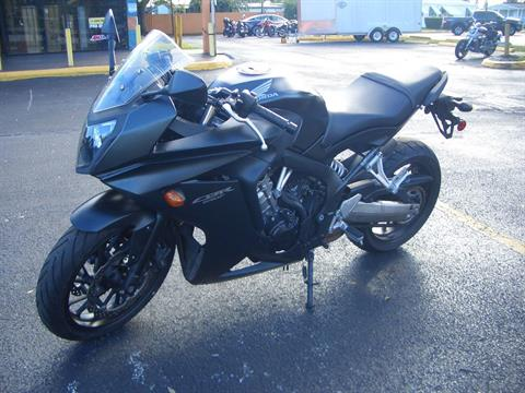 2014 Honda CBR®650F ABS in Fort Lauderdale, Florida - Photo 2