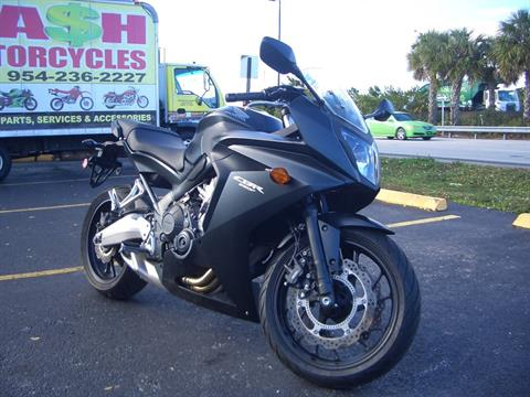 2014 Honda CBR®650F ABS in Fort Lauderdale, Florida - Photo 7