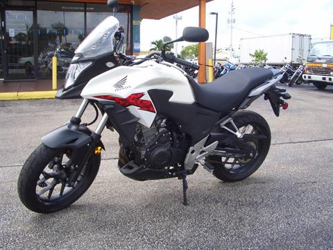 2014 Honda CB500X in Fort Lauderdale, Florida