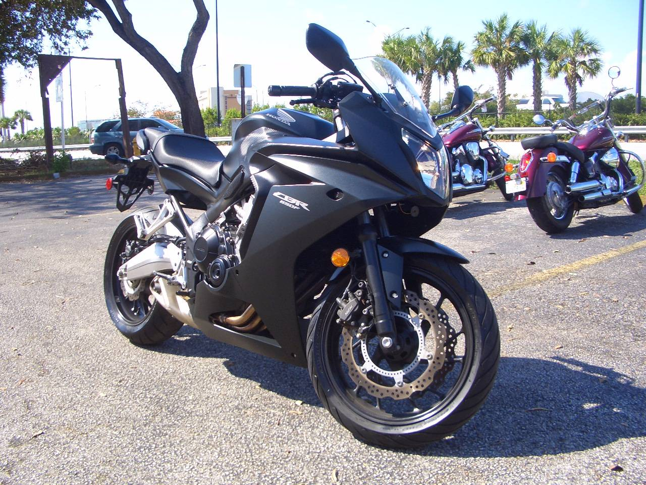 2016 Honda CBR650F ABS in Fort Lauderdale, Florida